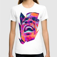 nba T-shirts featuring ERIC BLEDSOE: NBA ILLUSTRATION V2 by mergedvisible