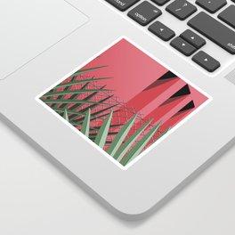 In Tropics Sticker