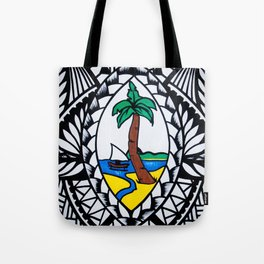 Guam Seal Poly Style Tote Bag