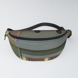 Twin Peep Holes Fanny Pack