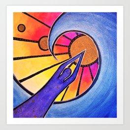 Prayer Dive Art Print