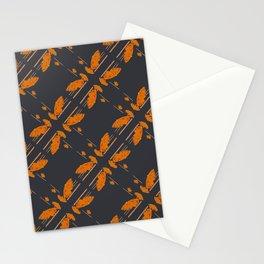 Orange chamomiles Stationery Cards