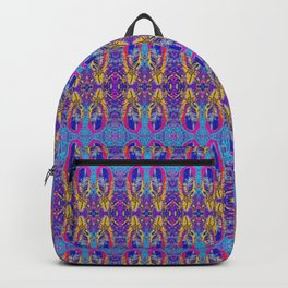 Bohemian Feathers Backpack