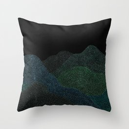 """Original Painting """"A Day at the Schwarzwald"""" Throw Pillow"""