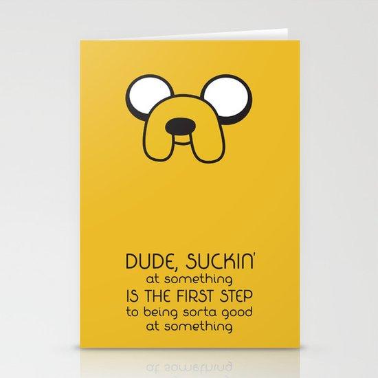 Wisdom From A Dog Stationery Cards