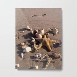 Romantic Beach Metal Print