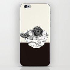 Chestnut Burr & Pottery iPhone & iPod Skin