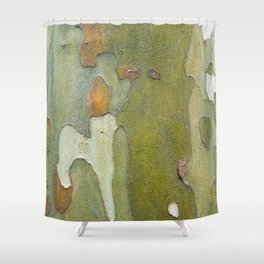 Sneaky Sycamore Shower Curtain