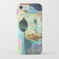 "flora bowley iPhone & iPod Cases featuring ""Abundance"" Original Painting by Flora Bowley  by Flora Bowley"
