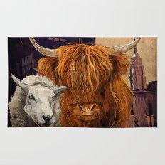 Sheep Cow 123 Rug