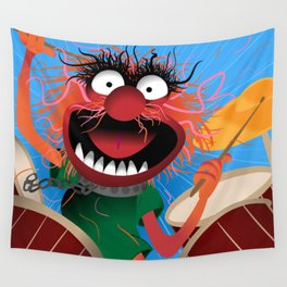 Animal Muppets' Drummer Wall Tapestry