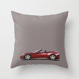 Ferrari California T Throw Pillow