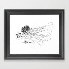 Jason and Jennica Framed Art Print