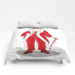 Big Pimpin' Santa Comforters