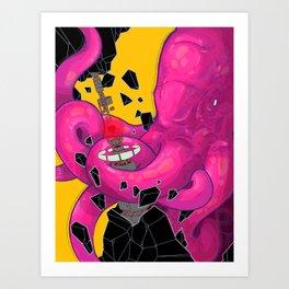I got lost Art Print