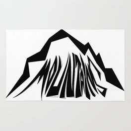 Mountains Oldschool Rug