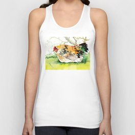 Cage Free Chicken Unisex Tank Top