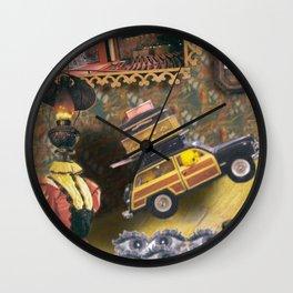 Victorian Pattern Wall Clock