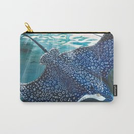 spotted eagle ray Carry-All Pouch