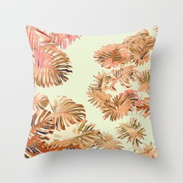 Stay Tropical Throw Pillow