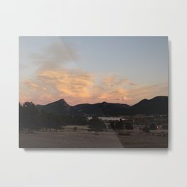 Sunset at the Stanley Metal Print