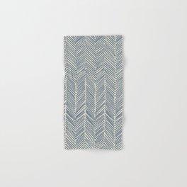 Freeform Arrows in navy Hand & Bath Towel