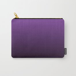 Violet Gradient Carry-All Pouch