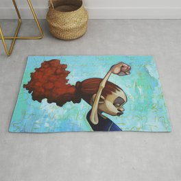 strong convictions Rug