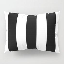 Big Lines Black and White Pillow Sham