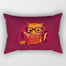 Feed Me And Tell Me I'm Smart Rectangular Pillow