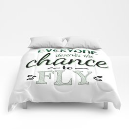 Everyone Deserves The Chance To Fly | Defying Gravity Comforters