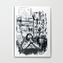 Tranquil (Sherlock) Metal Print