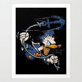 QUACKKKK!!!! Art Print