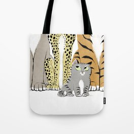 I Am a Cat! Tote Bag