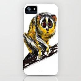 Loris iPhone Case
