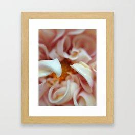 Natural Curls Framed Art Print