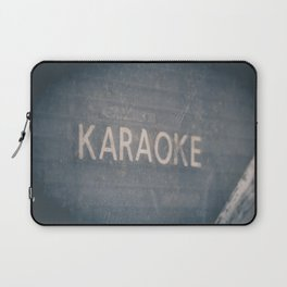 Karaoke Urban City Life Photograph Laptop Sleeve