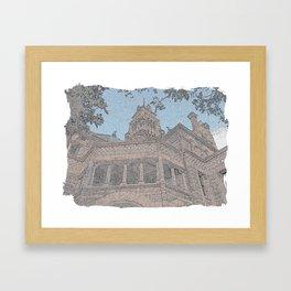 Courthouse Framed Art Print