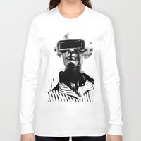 spaceman Long Sleeve T-shirts featuring Spaceman by Goga