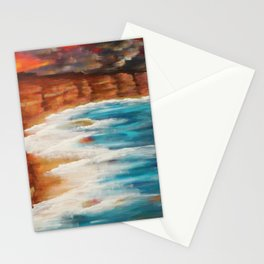 Moroccan Sea Spray Stationery Cards