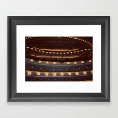 Chicago Orchestra Hall Color Photo Framed Art Print