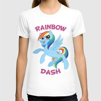 mlp T-shirts featuring MLP FiM: Rainbow Dash by Yiji