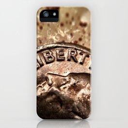 Liberty. iPhone Case
