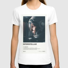 "Interstellar "" do not go gentle into that good night "" sci-fi movie poster T-shirt"