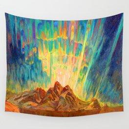 Anna Boberg Northern Lights Wall Tapestry