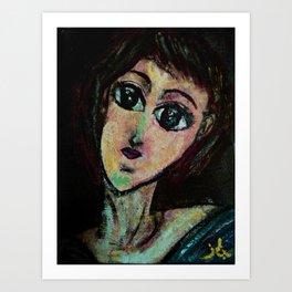 AWESOME GIRL Art Print