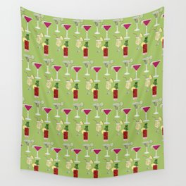 Cocktails Wall Tapestry