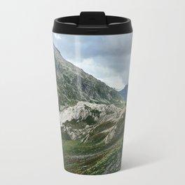 Mountains of Switzerland - Greina High Plain Granite Formation Travel Mug