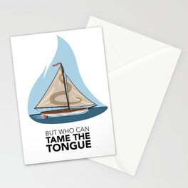 #5 Who Can Tame the Tongue Stationery Cards