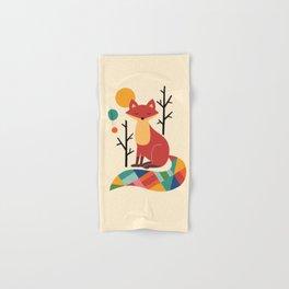 Rainbow Fox Hand & Bath Towel